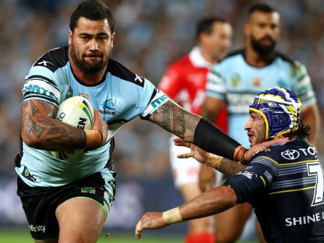 Out of my way Thurston says Andrew Fifita in the GF2016
