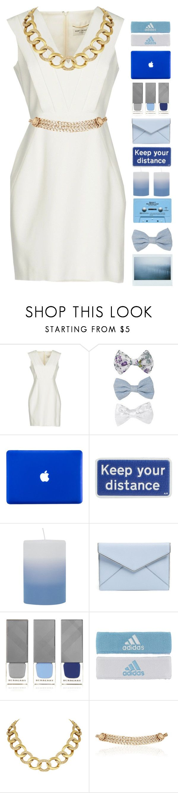 """When are things gonna slow down"" by jmn312 ❤ liked on Polyvore featuring Yves Saint Laurent, New Look, Anya Hindmarch, CASSETTE, Broste Copenhagen, Rebecca Minkoff, Burberry, adidas, House of Harlow 1960 and Maison Mayle"