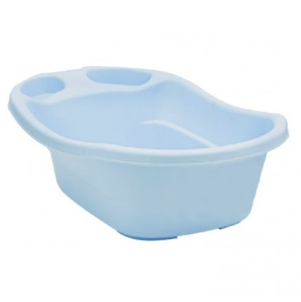 House Brand Baby Bath with Plug in Blue Available at 5rooms.com