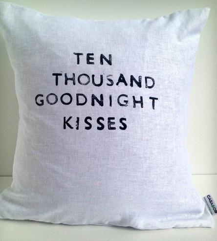 ten thousand goodnight kisses