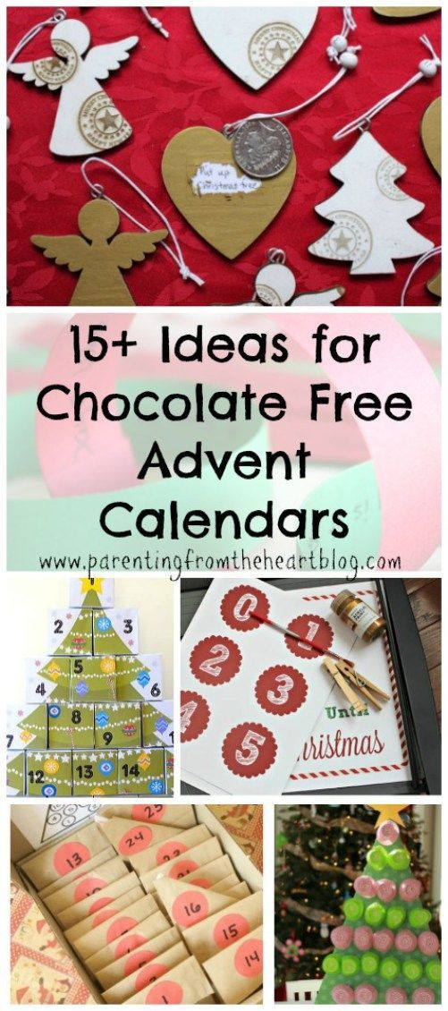Diy Chocolate Advent Calendar : Awesome ideas for advent calendars without candy