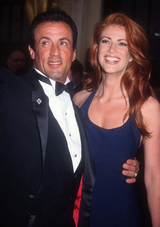 1995 Oscars Flashback! Arnold Schwarzenegger, Winona Ryder, and More | Sylvester Stallone and Angie Everhart
