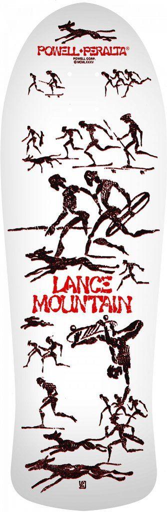 Powell Peralta Bones Brigade Lance Mountain 9th Series Reissue Skateboard Deck *Pre Order