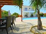 Holiday Villa in Coral Bay Village, Paphos, Cyprus CY4069-First Options Ave