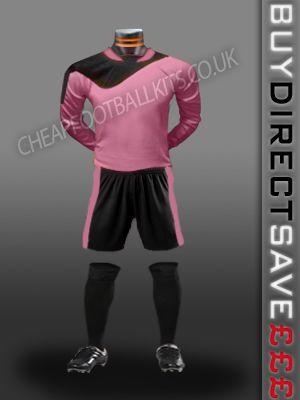 Legend Discount Football Kit Pink/Black