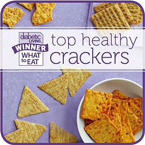 What to Eat with Diabetes: Top Crackers | Crackers, People ...