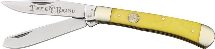 Boker Trapper Yellow Bone Knives 110731 - $37.68 #Knives #Boker