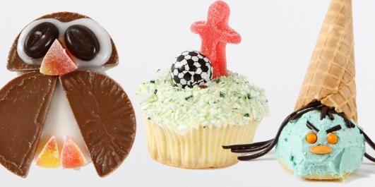 KREATIVE MUFFINS-PYNT: En og samme muffinsoppskrift kan brukes til så mangt. Barna elsker det.