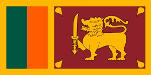 Sri Lankan Flag Meaning: The green stripe represents Sri Lanka's minority Muslims and the orange stripe the minority Hindu Tamils. The yellow represents Buddhism and the crimson stands for a long life. The golden lion is an ancient symbol of the people and the sword is a symbol of authority. The pipul tree leaves are a Buddhist symbol and come from the tree, under which Gautama is said to have received enlightenment and become Buddha. Individually the leaves represent love, compassion…