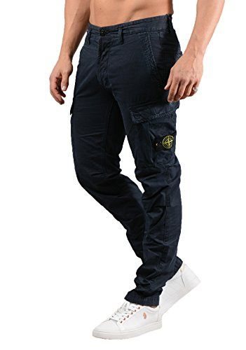 4d86d926c6 245.00 Stone Island Mens 3S2WA TC+Old Cargo Trouser in Navy | MENS ...