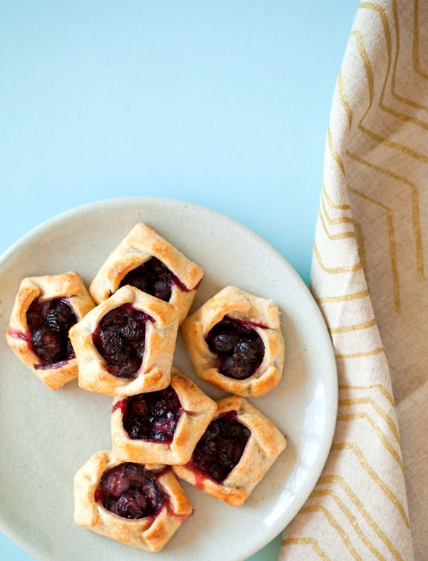 Mini fruit galettes...make 'me with peaches.  (and this is the recipe for cream cheese crusts)