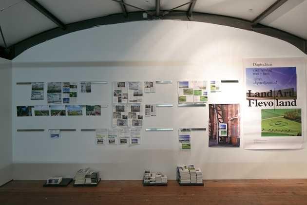 Coppens Alberts, Huisstijl Land Art Flevoland 2009-2012. © Jordi Huisman, Museum De Paviljoens