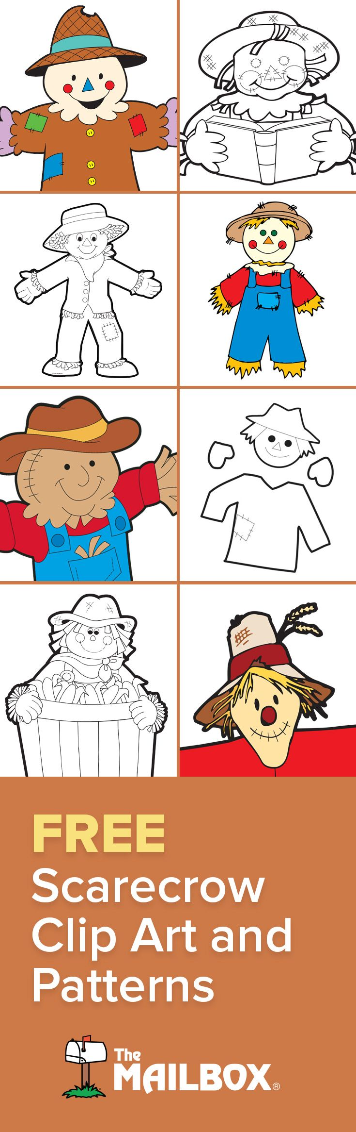 Worksheets Mailbox Worksheets 269 best fall images on pinterest the mailbox classroom ideas scarecrows patterns clipart worksheets and crafts oh bulletin board ideas