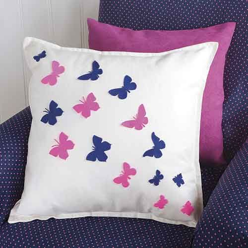 butterfly die cut cushion woman 39 s weekly craft papercraft sewing pinterest butterfly. Black Bedroom Furniture Sets. Home Design Ideas