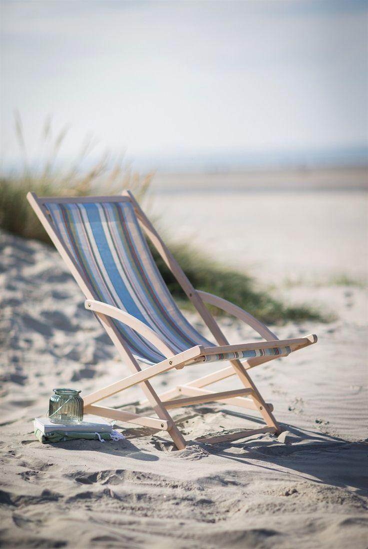 Rocking Deck Chair Suffolk Stripe