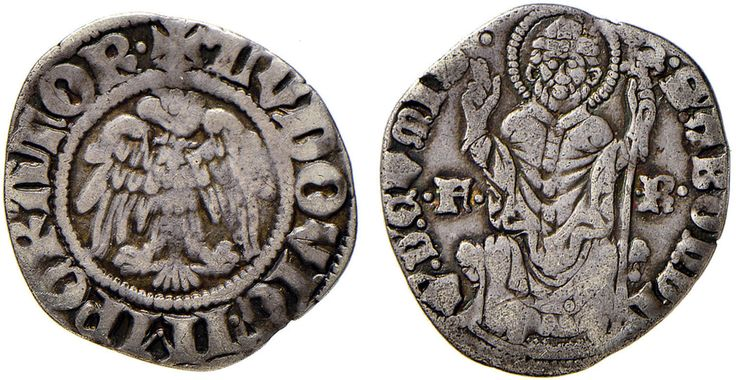 NumisBids: Nomisma Spa Auction 51, Lot 1307 : COMO Franchino I Rusca (1327-1335) Grosso da 12 imperiali – MIR 647...