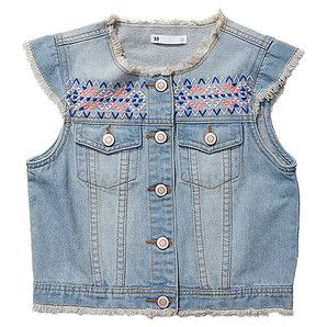 Girls' Raw Edge Neon Pop Vest – Target Australia August 2014