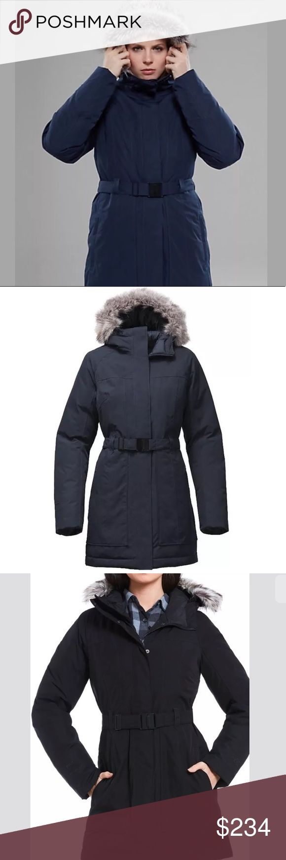 NORTH FACE NWT 2017 BROOKLYN II SIZE M DOWN PARKA Urban Navy -see all photos with descriptions The North Face Jackets & Coats Puffers