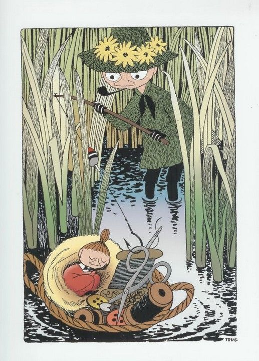 snufkin and little my :) characters of my childhood