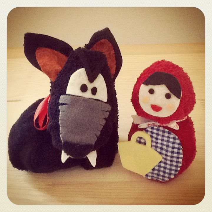 Cappuccetto rosso e il lupo cattivo #redridinghood