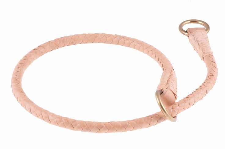 Alvalley Braided Leather Slip Collar
