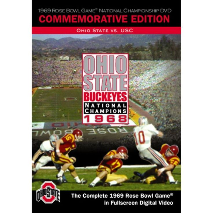 1969 Rose Bowl Game: Ohio State Buckeyes vs. USC Trojans DVD, Team