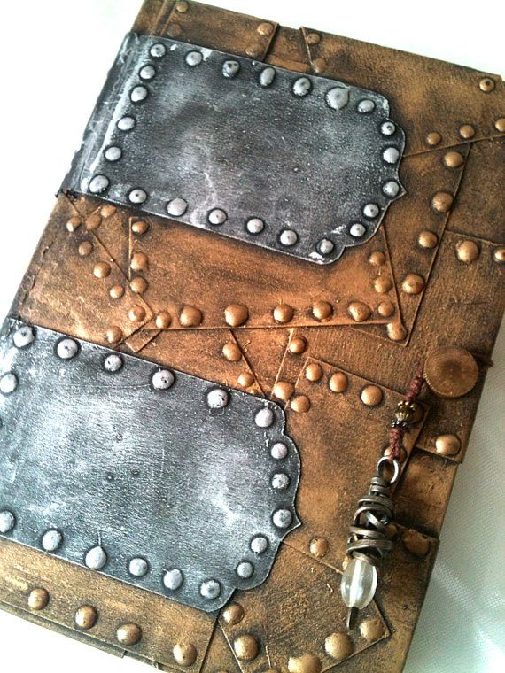 """""""The Thought Compendium"""" altered steampunk journal by PeriwinkleAlley"""