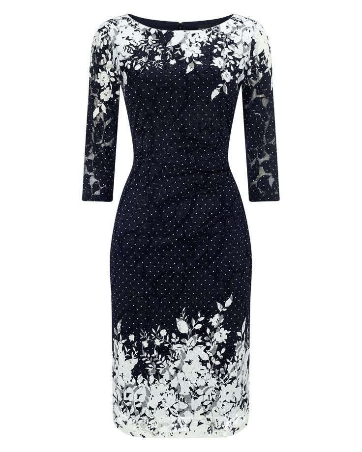 Elodie Placement Dress