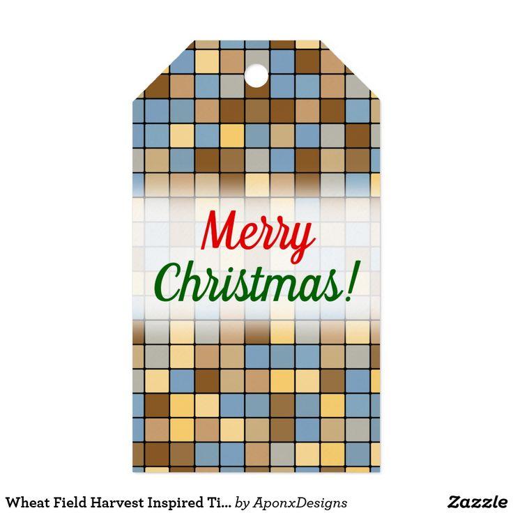 Wheat Field Harvest Inspired Tiles Pattern
