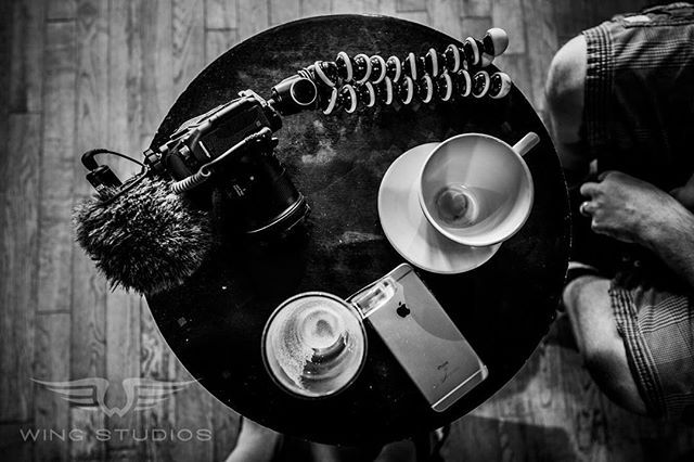 Today I had the great pleasure of shooting with the very talented @wadethemac and despite the super cold weather I thoroughly enjoyed the creative conversation. #collaboration #ygkphotography #ygkphotographer #visitkingston #blackandwhitephoto #ygk #ygklove #coffee #vlogger #vloglife #creative #photooftheday #kingston #lifestyle