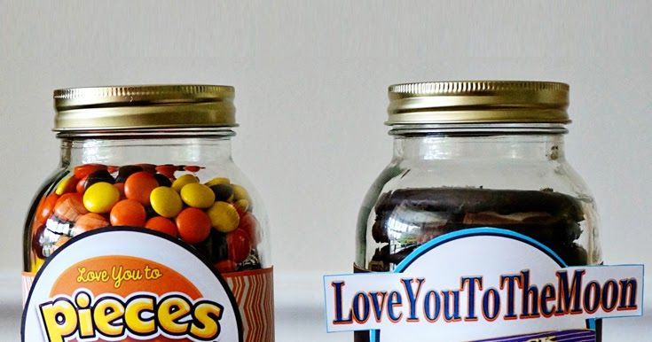 Father's Day Candy Jar Label Printables