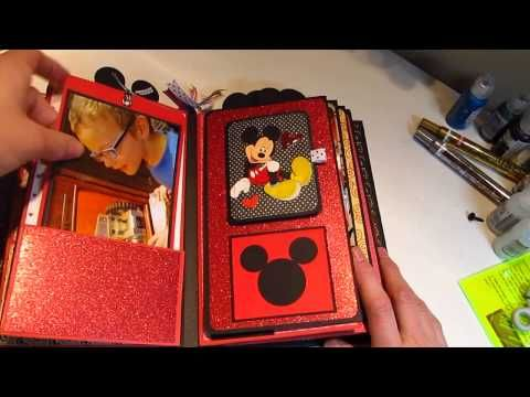 Disney Paper Bag Album