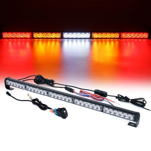 "Xprite RZ Series 30"" Offroad Rear Chase LED Strobe Light bar with Brake Reverse - RYWYR"