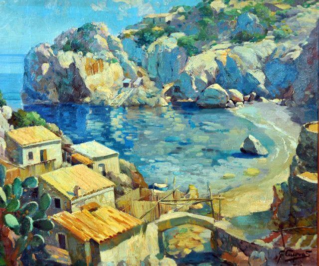Mallorca en Pintura: Carlos García Cuevas