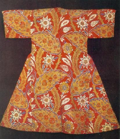 Ottoman Palace Attire, Childhood Caftan Of Ahmet I