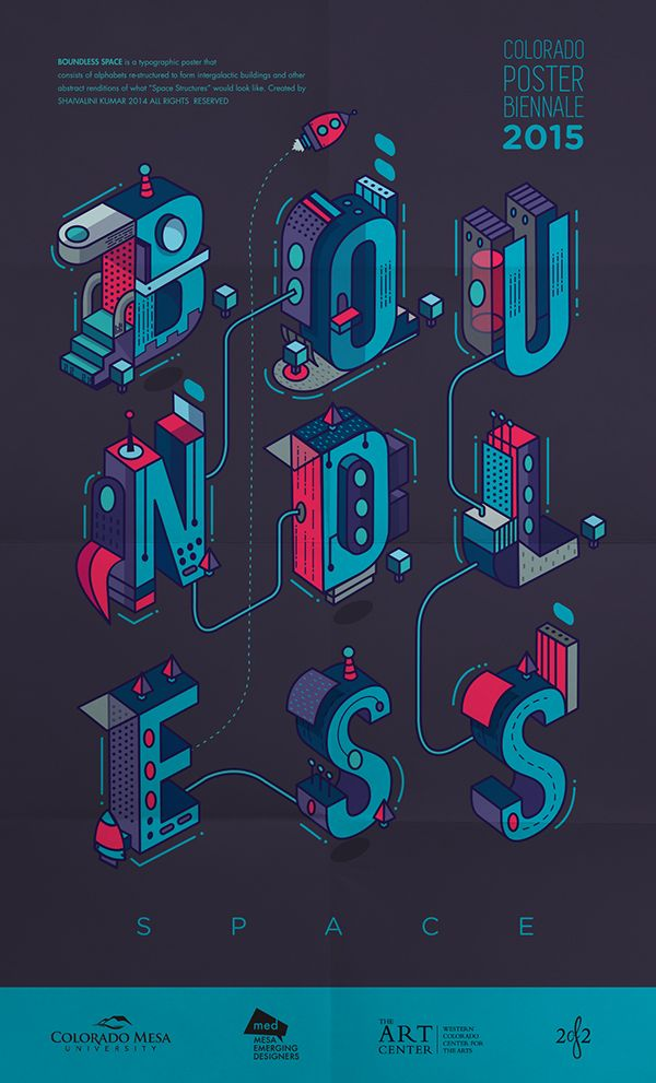 Boundless Space Typography