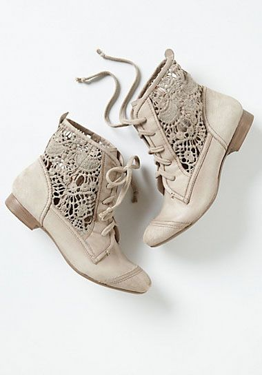 Irene Lace Booties | Green Wedding Shoes Wedding Blog | Wedding Trends for Stylish + Creative Brides