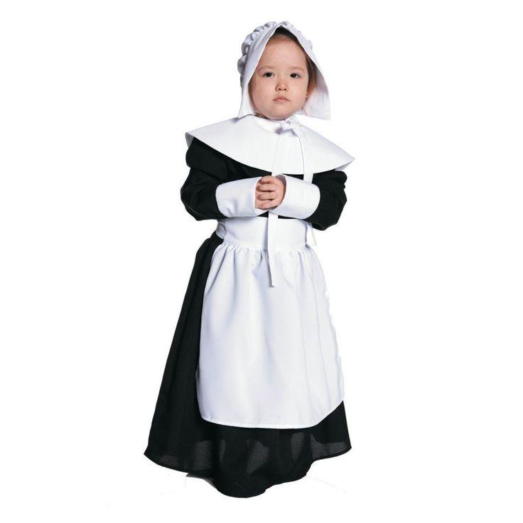 Pilgrim Costume For Girls