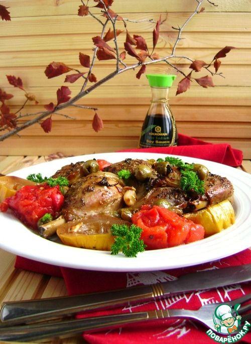 Курица для лентяек «Праздничная сиеста» - кулинарный рецепт