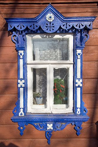 Window in Suzdal, Russia