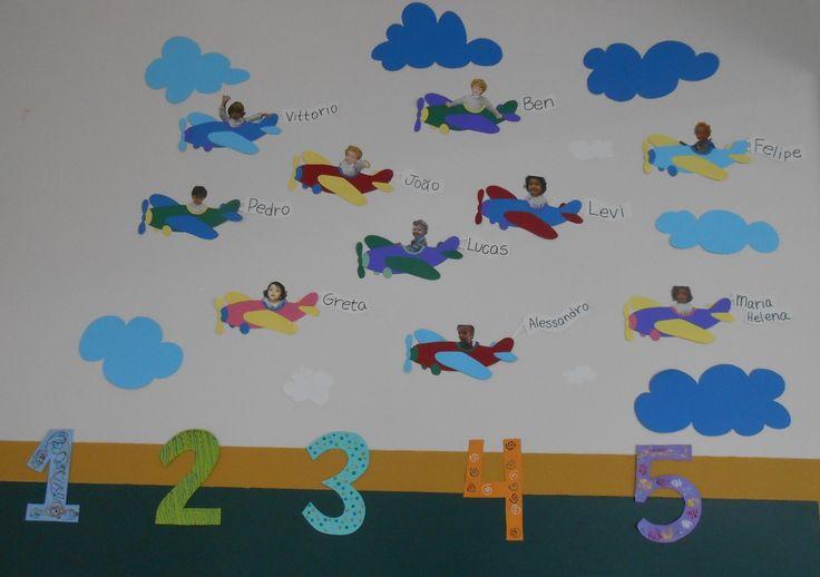Airplanes Bulletin Boards Doors Pinterest