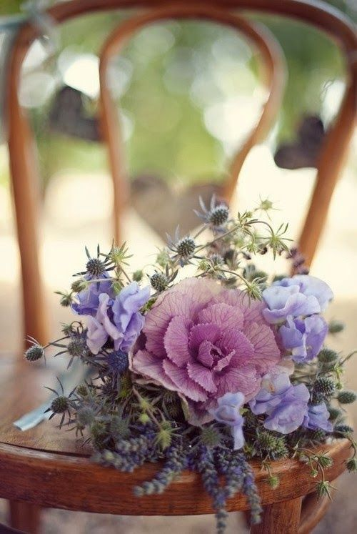 Ana Rosa  / Love the pins from Ana Rosa.  Flower bouquet is lovely