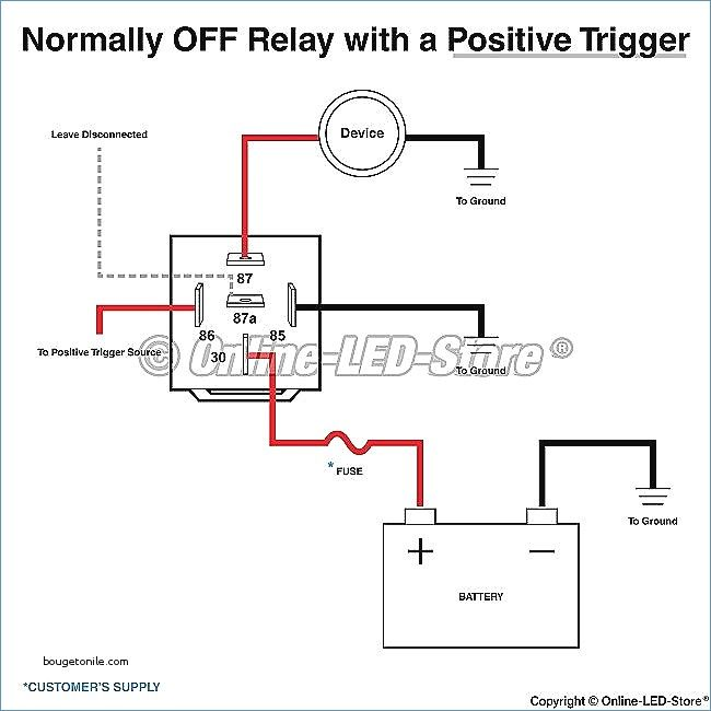wiring diagram for a 5 pin relay   relay electrical