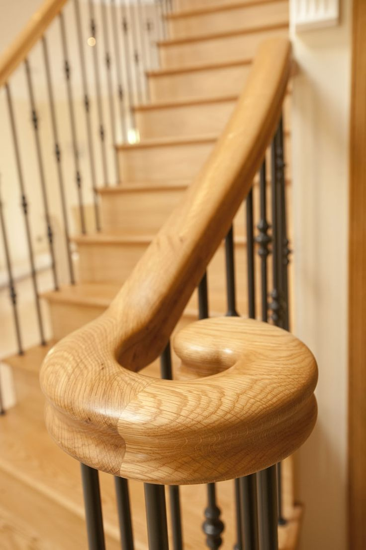 Oak Handrails For Stairs | Haldane Timber Handrails, Stairs And .