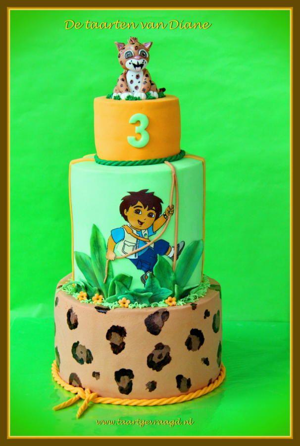 Go Diego Go! - Cake by Diane Gunst