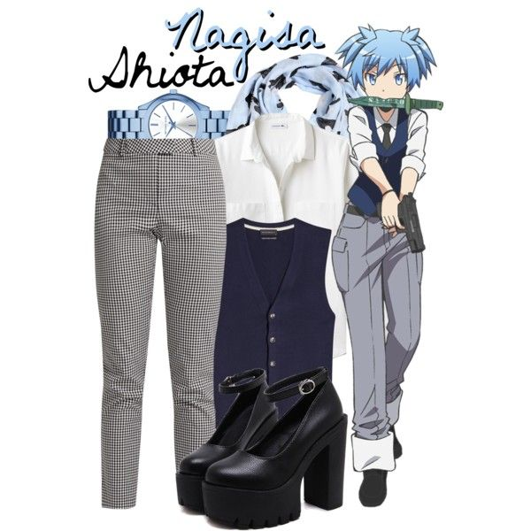 || Nagisa Shiota ~ Assassination Classroom || by freezespell on Polyvore