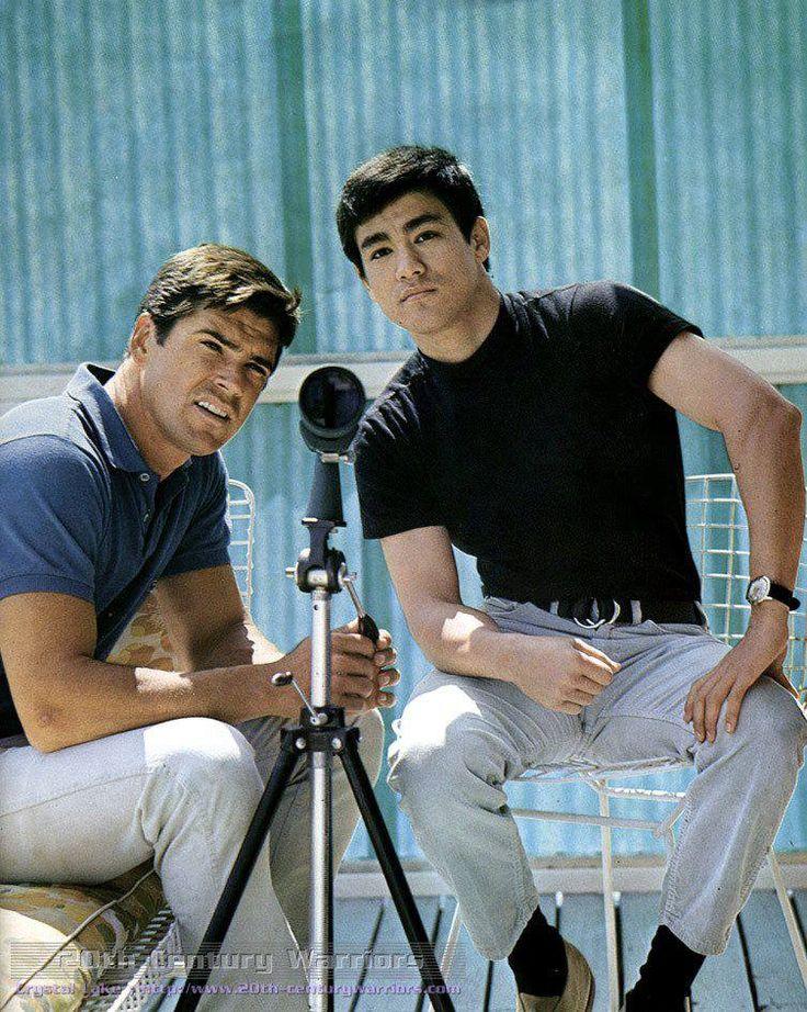 Bruce Lee & Van Williams #greenhornet