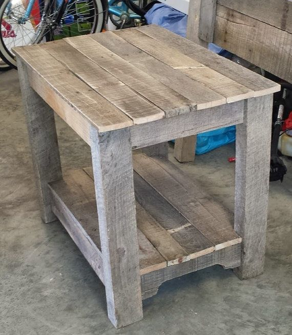 Pallet Bedside table/nightstand by PaducahPallets on Etsy