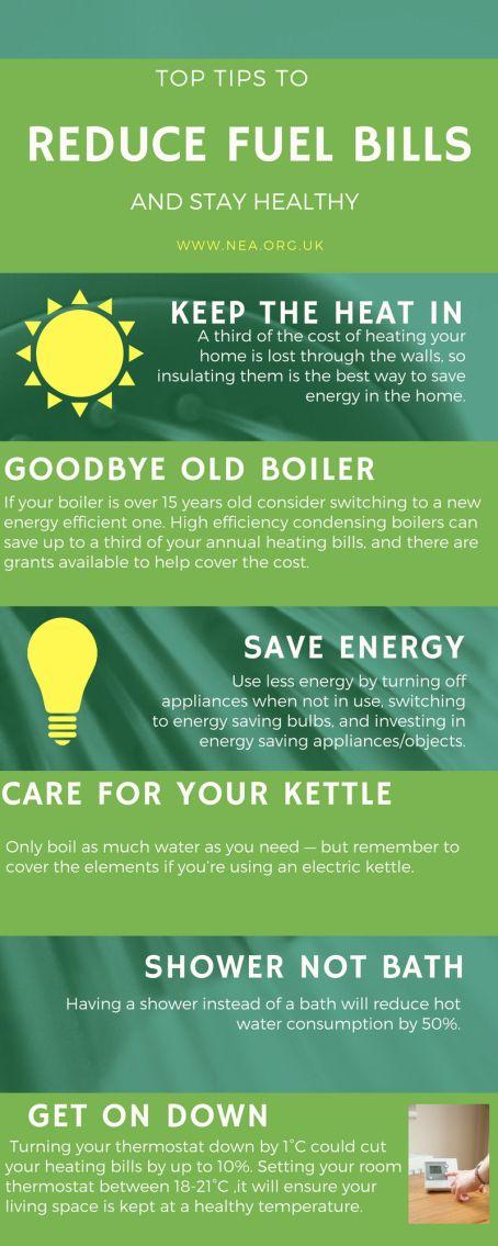 Top tips to reduce fuel bills