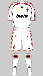 ac milan 2007 uefa champions league final kit